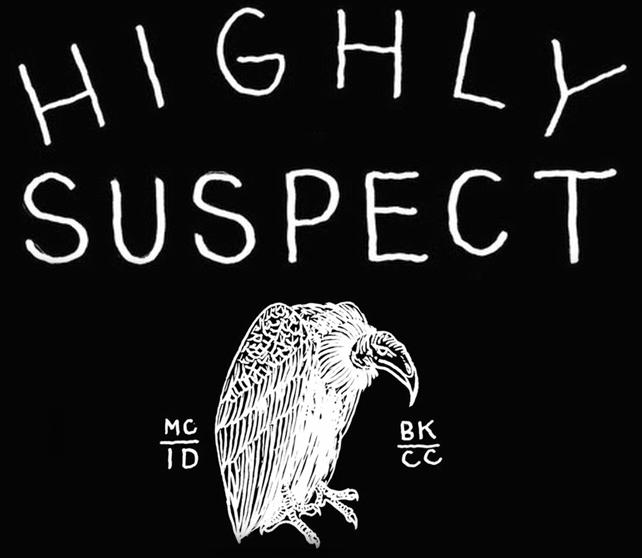 Vulture Logo Highly Suspect 10-14-1...